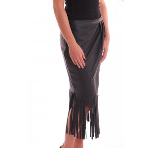 Relish leather skirt