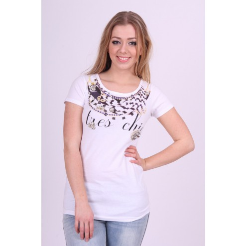 G.sel shirt in wit -TRES CHIC