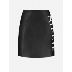 Nikkie N.3-132.2002 Melonie NIKKIE branded leather skirt