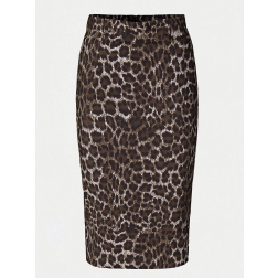 Guess W94D56WC690 pencilskirt in leopard