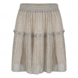 Jacky Luxury JLSSSS20110 skirt in silver