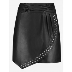 Nikkie N3-378 2005 Mandy skirt black leather