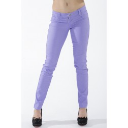 Paarse reversible jeans van Sylvia's secret by SOS.