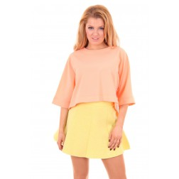 Mara top in neon peach Josh-V