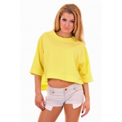Mara top in Yellow Lime Josh-V