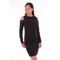 Liu Jo open shooulder dress in zwart