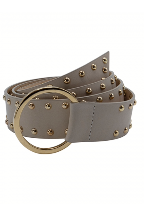 So Jamie knot it up Belt in beige gold