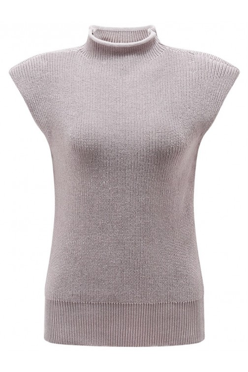 It's Given Claire knit truitje in soft pink