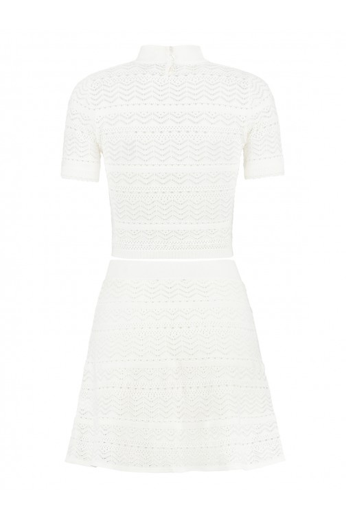 June's Combi dress in off-white
