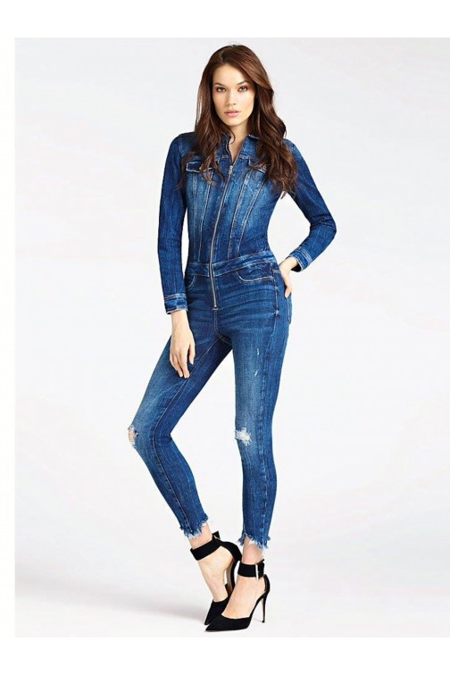 Guess denim jumpsuit