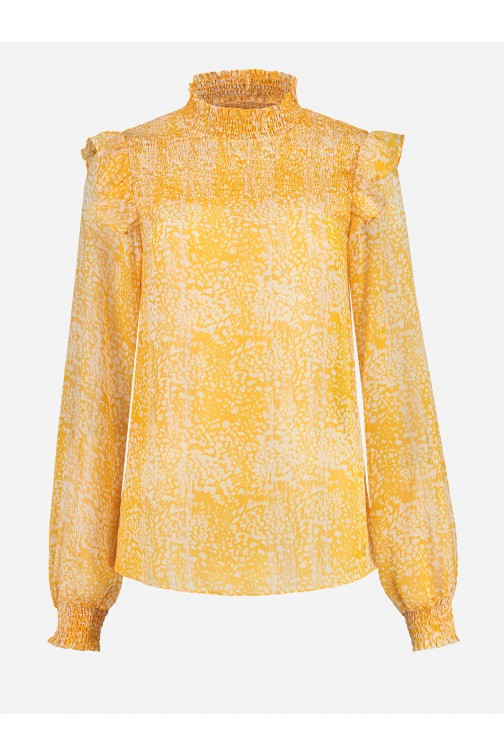 Nikkie Roi blouse in Warm Glow
