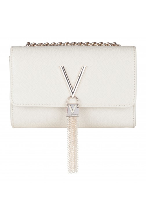 Valentino Divina bag met tassel in cream