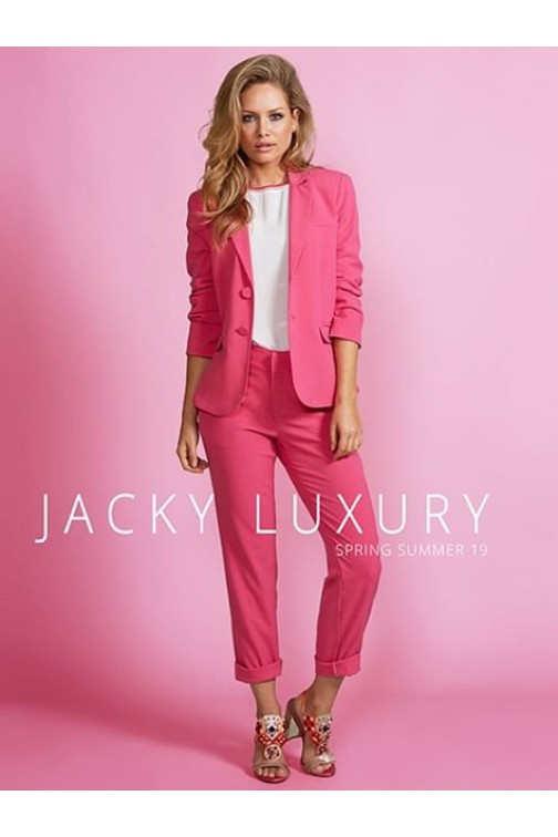 Jacky Luxury blazer in hot pink