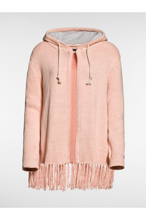 Goldbergh fringe Cardigan peach
