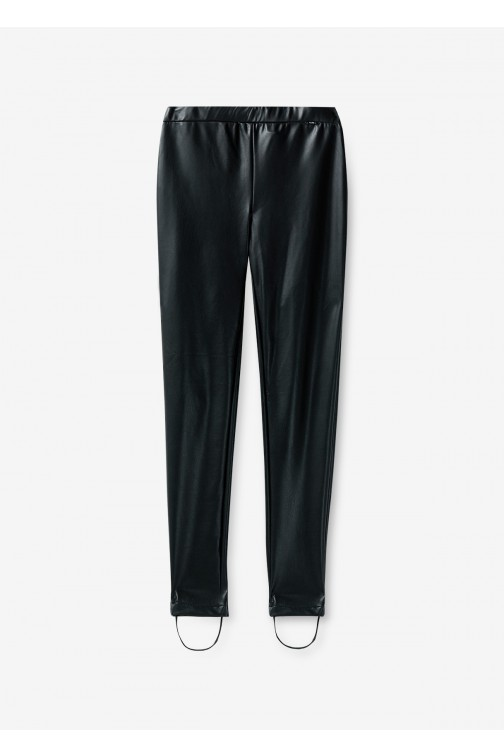 Liu Jo Poetic Drama legging in leer