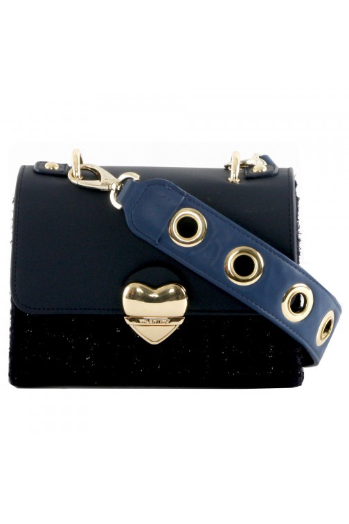 Valentino Guitar crossbody bag in navy
