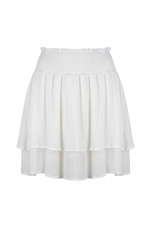 Jacky Luxury skirt Ruffle in wit
