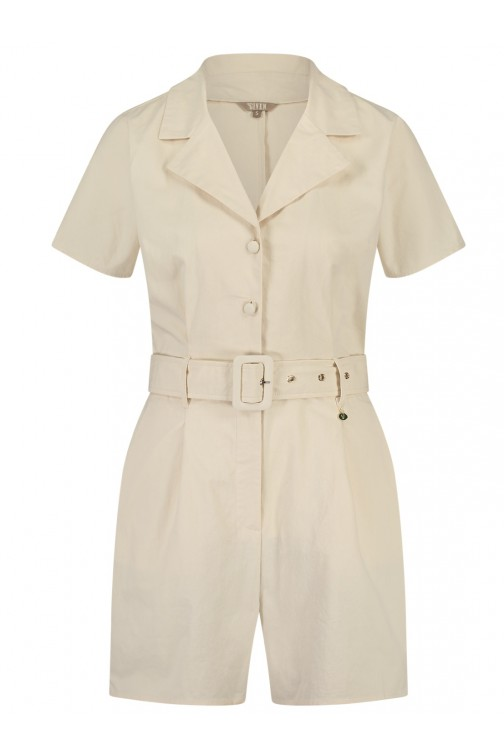 Its Given Playsuit Loraine in beige