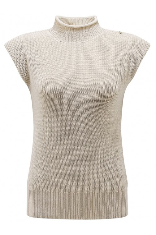 It's Given Claire knit truitje in beige