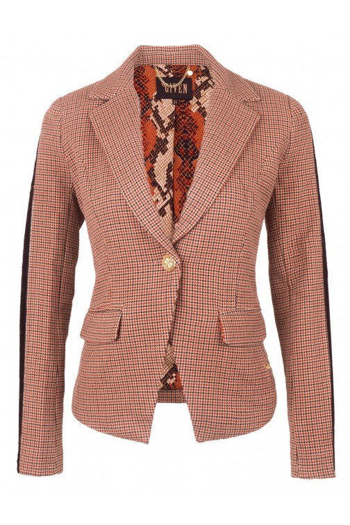 Its Given Rusty blazer in ruit