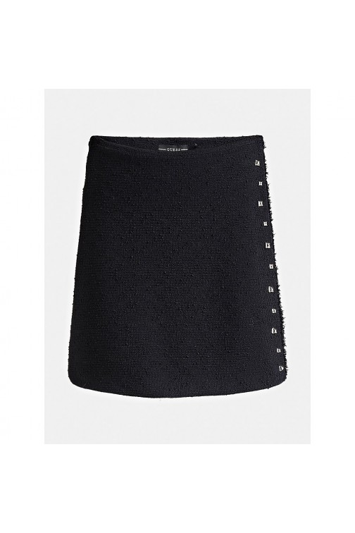 Guess Doreen skirt in zwart boucle