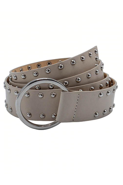So Jamie knot it up Belt in beige - silver