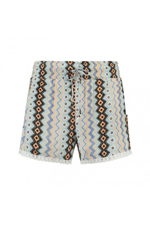 Labee Evron short in print