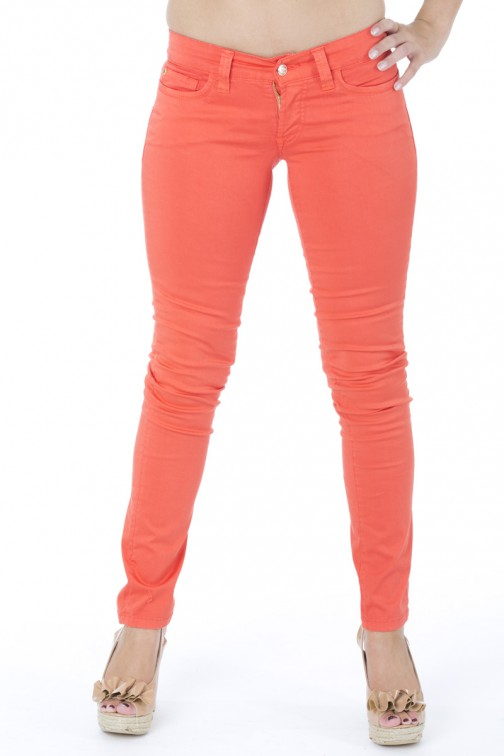 Orange-rode jeans van SOS