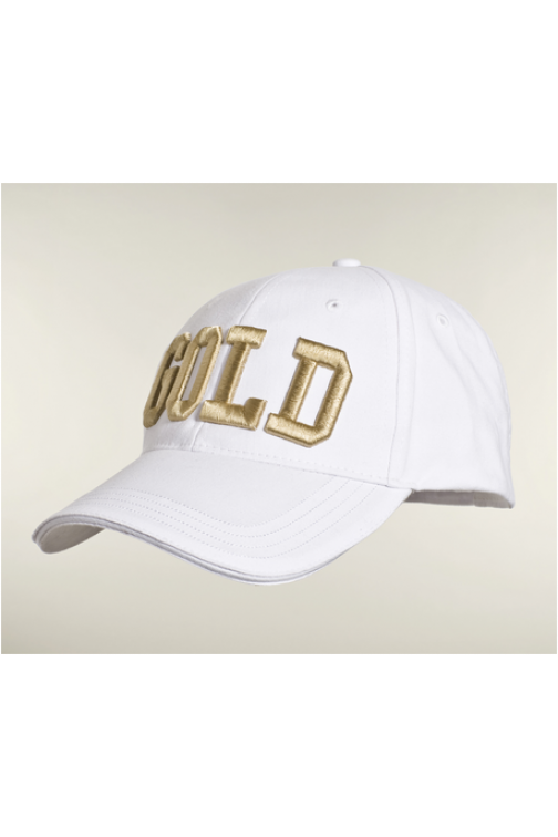 Goldbergh baseballcap in wit