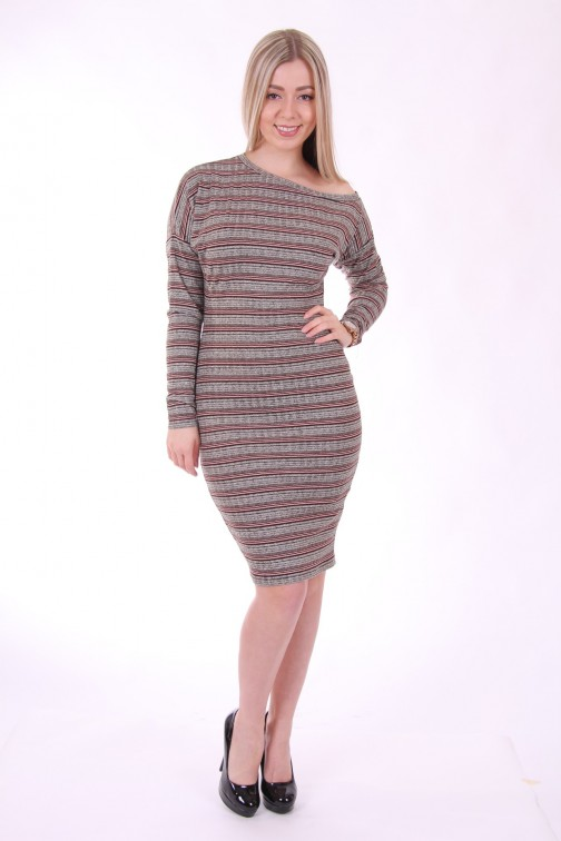 Supertrash Doulains jurk in stripes