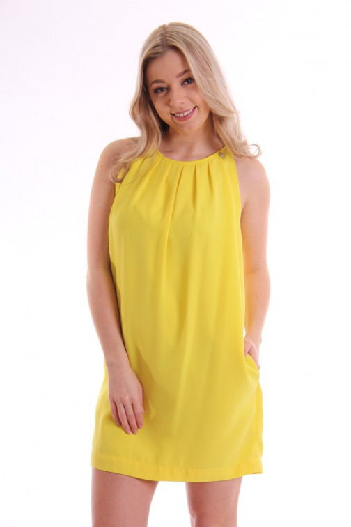 Relish mini dress STACY in yellow