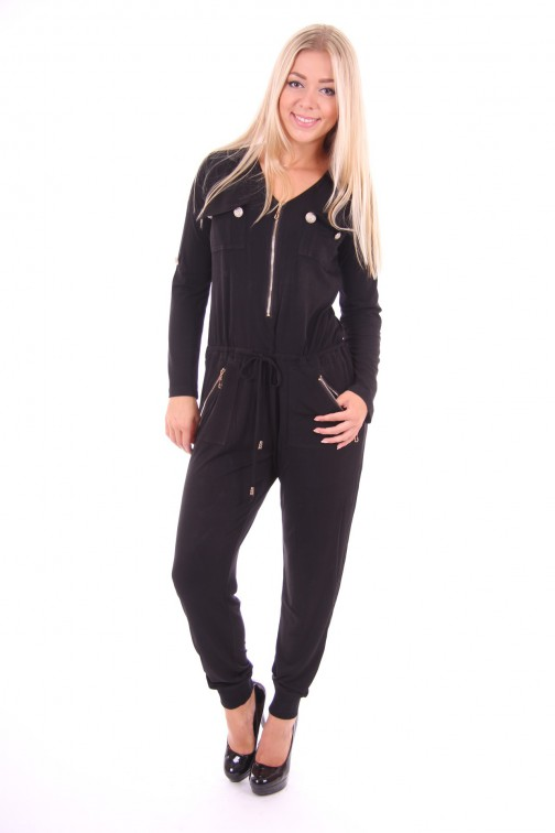 Glamorou jumpsuit in black: Alma