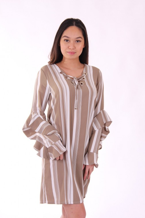 Supertrash tuniek jurk - stripe