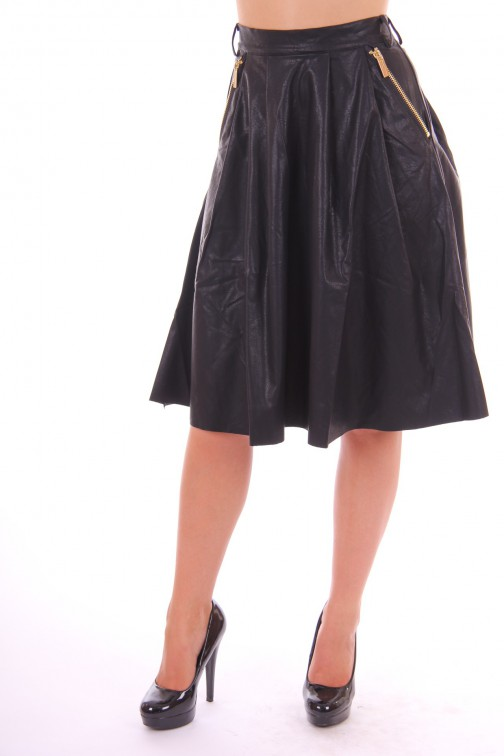Tailor & Elbaz skirt in leer