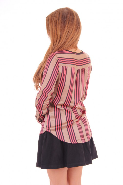 Given striped blouse Kiko