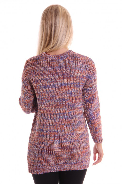 Oversized trui in multicolor, Big Jumper