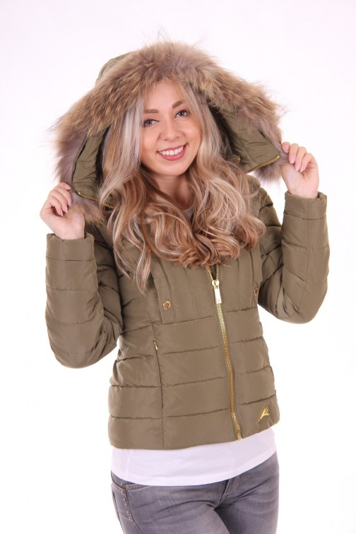 Nickelson Naomi winterjas in olive