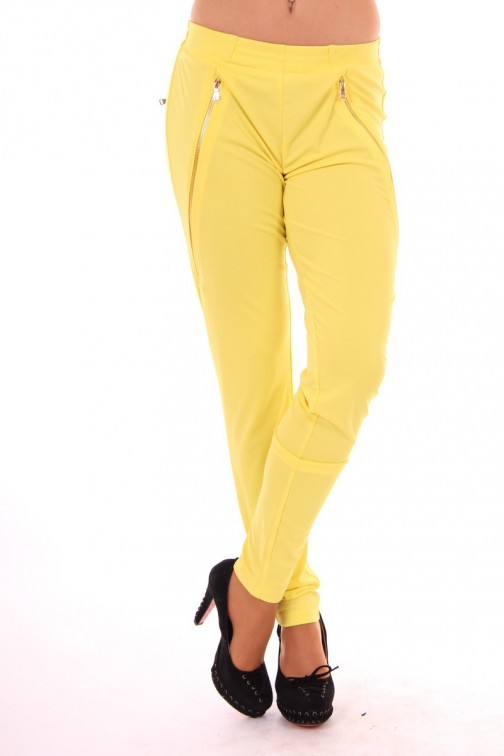 Given Keira loose-fit Pants in Yellow