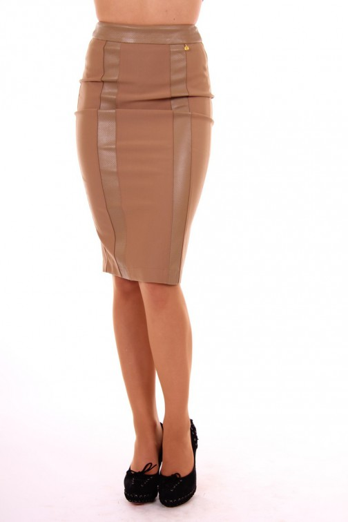 Given Pride tube Skirt in Caramel