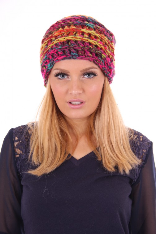 Starling knitted beanie multicolour