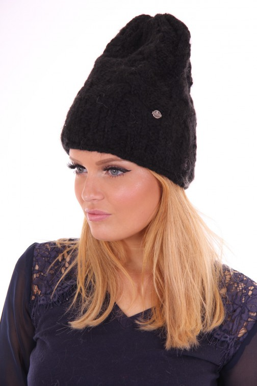 Starling beanie mohair black