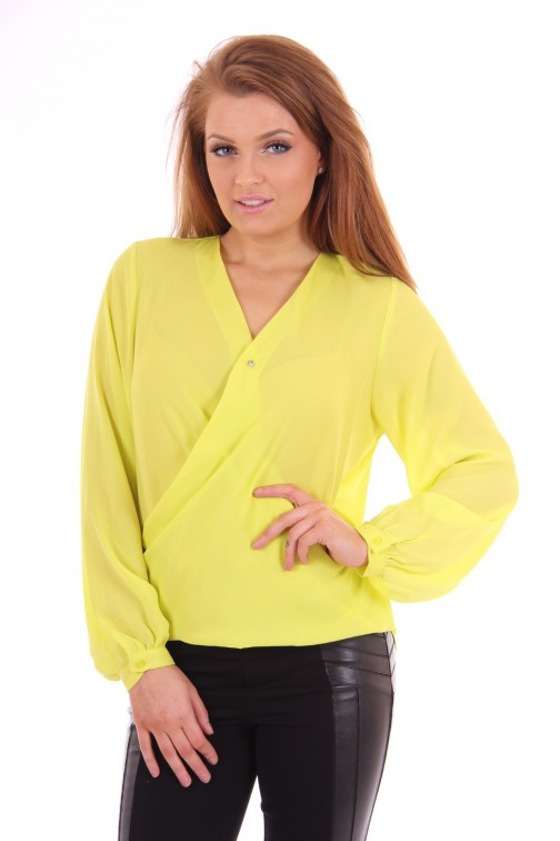 Fracomina blouse in overslag model