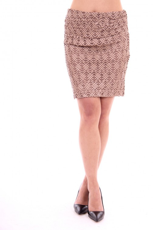Relish Ophelia skirt in leer