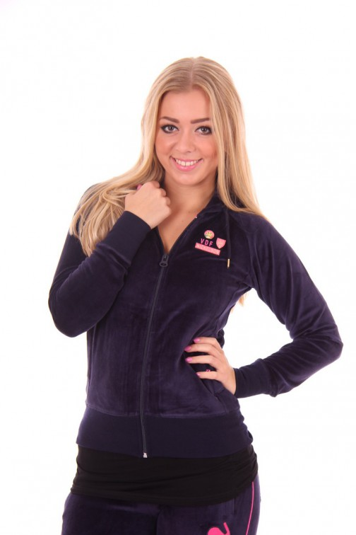 Nickelson jogging jasje in Navy: CARLY
