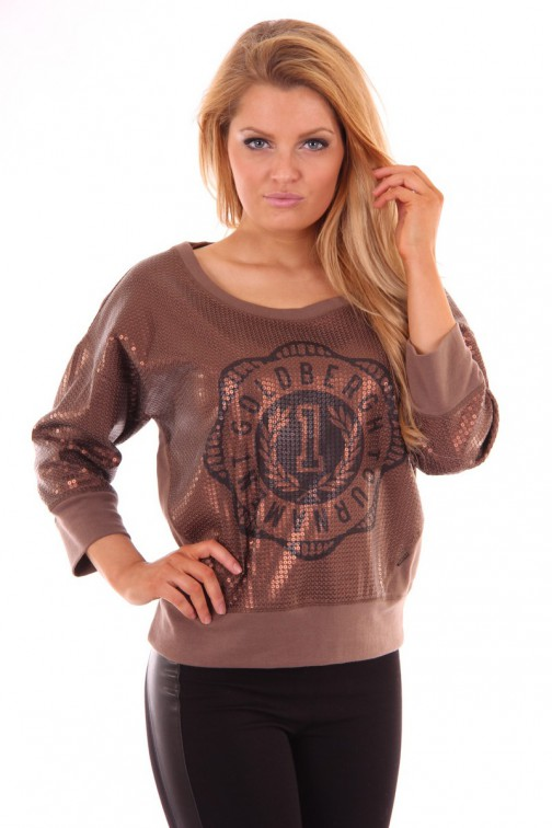 Goldbergh pailletten sweater