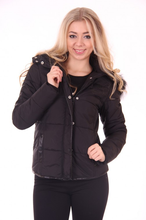 Nickelson April Winterjacket in Black
