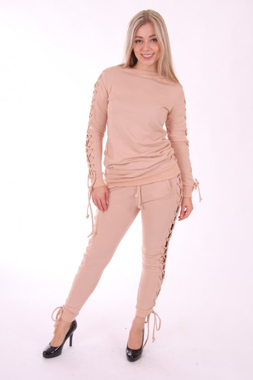 Josh V Baylee lounge broek - dusty pink