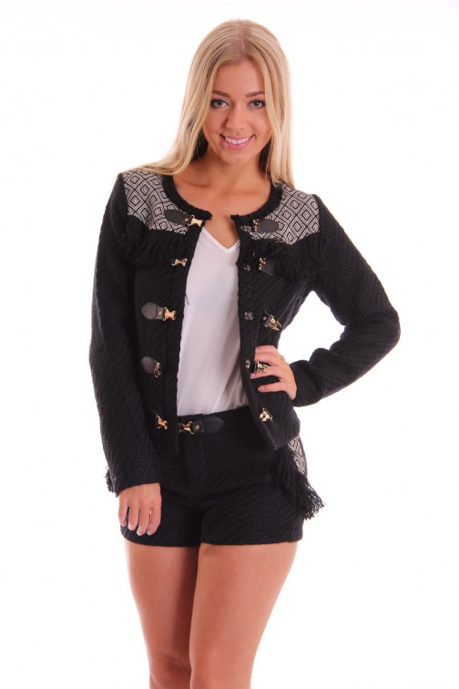 Tailor & Elbaz boho Jacket Black