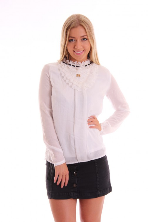Tailor & Elbaz off-white Blouse Dorcas