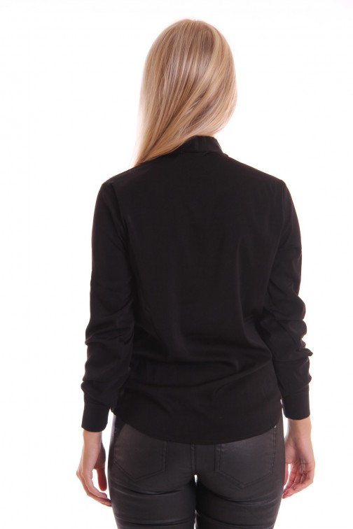 Labee blouse Kane in zwart